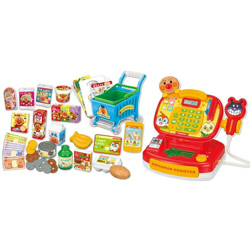 【送料無料】アンパンマン ピピッとおかいもの!アンパンマンレジスターDX おもちゃ こども 子供 女の子 ままごと ごっこ クリスマス プレゼント 1歳6ヶ月