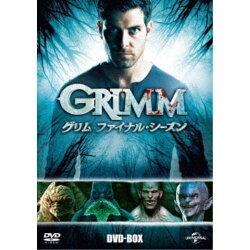 GRIMM/グリムファイナル・シーズンDVD-BOX【DVD】