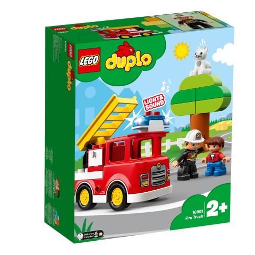 レゴ デュプロ 光る!鳴る!消防車 10901 おもちゃ こども 子供 レゴ ブロック 2歳 LEGO