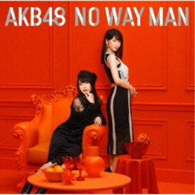 AKB48/NO WAY MAN《通常盤/Type E》 【CD+DVD】
