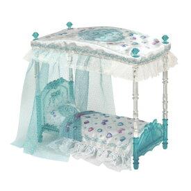 リカちゃん LF-07 ゆめみるお姫さま クリスタルベッドセットおもちゃ こども 子供 女の子 人形遊び 家具 3歳