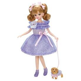 リカちゃん LW-07 ペットとおそろいドレスセット おもちゃ こども 子供 女の子 人形遊び 洋服 3歳