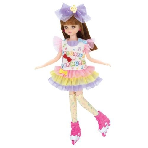 リカちゃん LW-11 ポップンスケート おもちゃ こども 子供 女の子 人形遊び 洋服 3歳