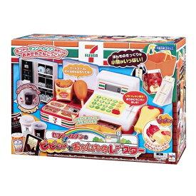 【送料無料】セブン-イレブンのピピッ!とおかいものレジスター おもちゃ こども 子供 女の子 ままごと ごっこ 3歳