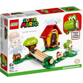 LEGO レゴ スーパーマリオ ヨッシー と マリオハウス 71367おもちゃ こども 子供 レゴ ブロック