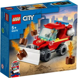 LEGO レゴ シティ 消防危険物取扱車 60279おもちゃ こども 子供 レゴ ブロック 3歳