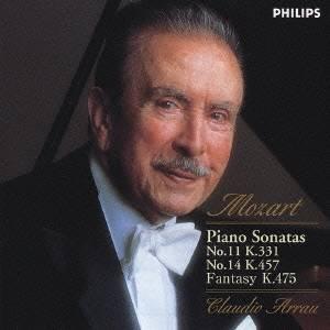 クラウディオ・アラウ/モーツァルト:ピアノ・ソナタ第11番《トルコ行進曲付》 第14番K457 幻想曲K475 【CD】