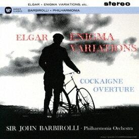 ジョン・バルビローリ/エルガー:エニグマ変奏曲 序曲「コケイン」 【CD】