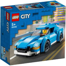LEGO レゴ シティ スポーツカー 60285おもちゃ こども 子供 レゴ ブロック 3歳