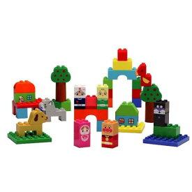ラッピング対応可◆ブロックラボ ファーストシリーズ はじめてのブロックバケツL クリスマスプレゼント おもちゃ こども 子供 知育 勉強 1歳6ヶ月 アンパンマン