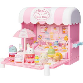 すみっコぐらし くっつきすみっコフルーツカフェワゴンおもちゃ こども 子供 女の子 人形遊び ハウス 6歳