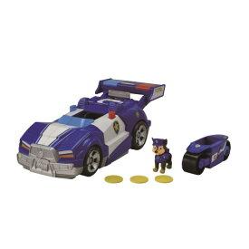 パウ・パトロール ザ・ムービー DX変形ビークル チェイス スーパーポリスカーおもちゃ こども 子供 男の子 ミニカー 車 くるま 3歳