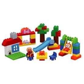 【送料無料】ブロックラボ ワールドシリーズ たのしいアンパンマンタウンバケツ おもちゃ こども 子供 知育 勉強 3歳