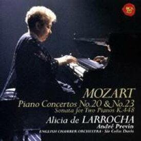 アリシア・デ・ラローチャ/モーツァルト:ピアノ協奏曲第20番&第23番 2台のピアノのためのソナタ 【CD】