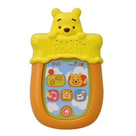 Dear Little Hands おしゃべりメロディスマートフォン くまのプーさんおもちゃ こども 子供 知育 勉強 ベビー 0歳6ヶ月