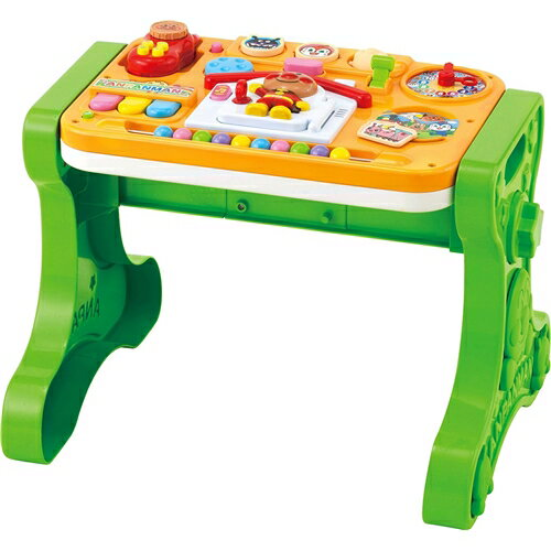 【送料無料】アンパンマン よくばりテーブル おもちゃ こども 子供 知育 勉強 ベビー 0歳6ヶ月