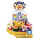 【送料無料】アンパンマン カプセルくるくるお皿でポン!たのしい回転ずしDX おもちゃ こども 子供 知育 勉強 3歳