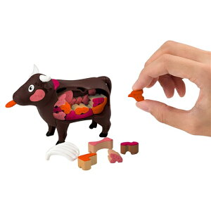 ジグソーパズル 一頭買い!特選焼肉パズル-ウシ- おもちゃ こども 子供 パズル 6歳