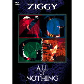 ZIGGY/ALL or NOTHING 【DVD】
