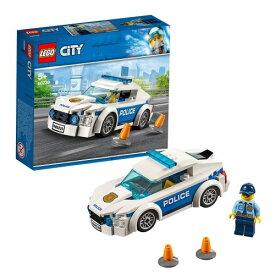 レゴ シティ ポリスパトロールカー 60239おもちゃ こども 子供 レゴ ブロック 5歳 LEGO