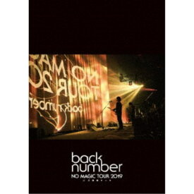 back number/NO MAGIC TOUR 2019 at 大阪城ホール《通常盤》 【DVD】