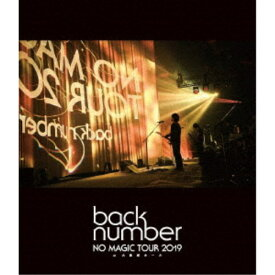 back number/NO MAGIC TOUR 2019 at 大阪城ホール《通常盤》 【Blu-ray】