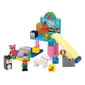 【送料無料】ブロックラボ キラキラこおりの水族館ブロックセット おもちゃ こども 子供 知育 勉強 3歳 アンパンマン