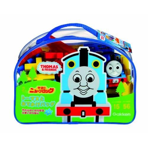 【送料無料】ニューブロック きかんしゃトーマス ニューブロックとおでかけバッグ