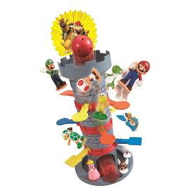 スーパーマリオ ぶっ飛び!タワーゲーム おもちゃ こども 子供 パーティ ゲーム 4歳 スーパーマリオブラザーズ