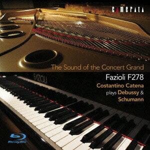 至高のコンサートグランド ファツィオーリ F278 ドビュッシー&シューマン:ピアノ作品集 【Blu-ray】
