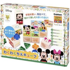 わくわくちえキューブおもちゃ こども 子供 知育 勉強 2歳 ミッキーマウス