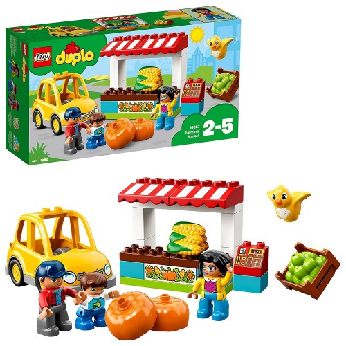 LEGO 10867 デュプロ ぼくじょうのおみせ おもちゃ こども 子供 レゴ ブロック 2歳