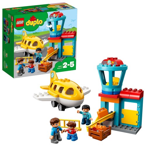 LEGO 10871 デュプロ デュプロのまち'くうこう' おもちゃ こども 子供 レゴ ブロック 2歳