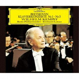 ヴィルヘルム・ケンプ/ベートーヴェン:ピアノ協奏曲全集 (初回限定)《SACD ※専用プレーヤーが必要です》 【CD】
