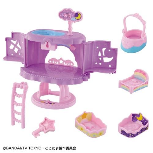 【送料無料】キラキラハッピー★ ひらけ!ここたま ナイトランプのここたまホテル おもちゃ こども 子供 女の子 3歳