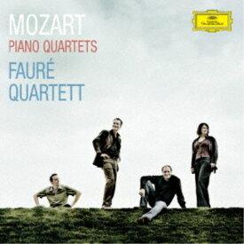 フォーレ四重奏団/モーツァルト:ピアノ四重奏曲第1番・第2番 【CD】