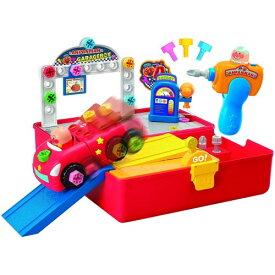 アンパンマン くみたてDIY ひらいて整備だ!ねじねじガレージボックスおもちゃ こども 子供 知育 勉強 ベビー 3歳