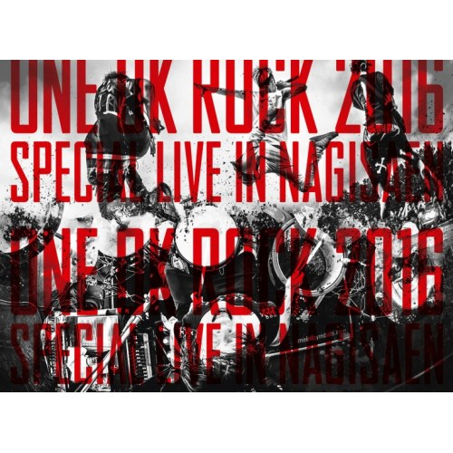 ONE OK ROCK/LIVE Blu-ray 『ONE OK ROCK 2016 SPECIAL LIVE IN NAGISAEN』 【Blu-ray】