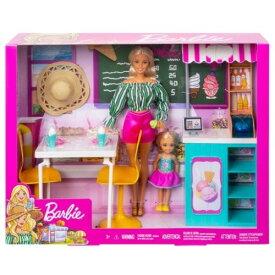 バービーとチェルシーアイスクリームショップおもちゃ こども 子供 女の子 人形遊び 3歳
