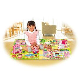 メルちゃん ひろげてあそべるレジャーマップおもちゃ こども 子供 女の子 人形遊び 小物