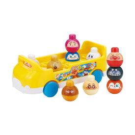 ベビラボ アンパンマン〜脳を育む〜かぞえてつみつみバスおもちゃ こども 子供 知育 勉強 1歳