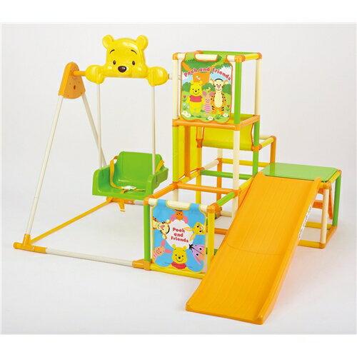【送料無料】くまのプーさん おりたたみロングスロープ キッズパークSP おもちゃ こども 子供 知育 勉強 遊具 室内 2歳