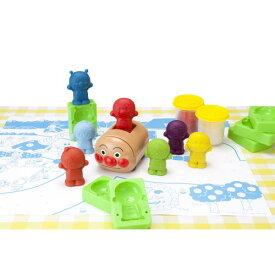アンパンマン つくってたのしい ねんどでアンパンマンごうセット おもちゃ こども 子供 知育 勉強 3歳