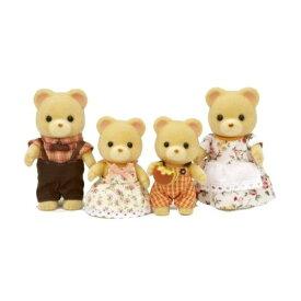 シルバニアファミリー FS-04 クマファミリー おもちゃ こども 子供 女の子 人形遊び 3歳