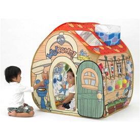 【送料無料】トゥーンタウンあそびと知育のボールハウス おもちゃ こども 子供 知育 勉強 遊具 室内 2歳