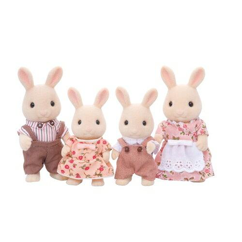 シルバニアファミリー FS-09 みるくウサギファミリー おもちゃ こども 子供 女の子 人形遊び 3歳