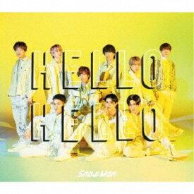 Snow Man/HELLO HELLO《A盤》 (初回限定) 【CD+DVD】