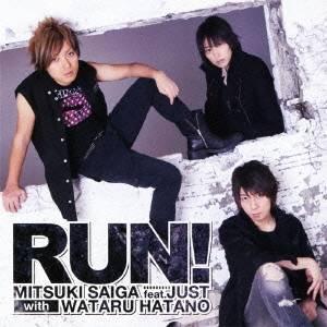 斎賀みつき feat.JUST with 羽多野渉/RUN! 【CD+DVD】