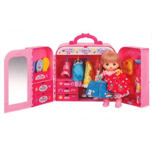 【送料無料】メルちゃん おかたづけばっちり!おしゃれクローゼット おもちゃ こども 子供 女の子 人形遊び 家具