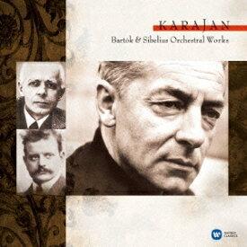 ヘルベルト・フォン・カラヤン/バルトーク&シベリウス管弦楽曲集 【CD】